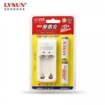 龙威盛LD2A25数码便携充 可充2节5号电池2500毫安