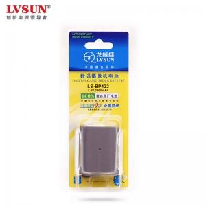 龙威盛 佳能BP-422摄像机电池 LS-BP422