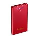 超薄数码移动电源LS-B500(酒红)5000mAh
