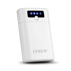 智能宝商务移动电源LS-B8000瓷白 8000mAh