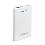 摄像机/平板电脑/POS机移动电源B859(瓷白)6000mA