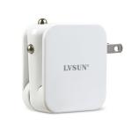 家用车载两用5V 1A USB充电器LS-AD05-U0510苹果风格