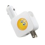微笑天使家车两用USB充电器LS-AD05-U0510