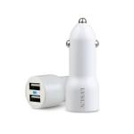 车载双USB 5V 2A充电器LS-CR10-2U0520 苹果风格 大电流供电